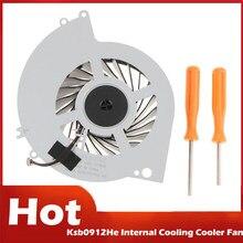 Varejo ksb0912he ventilador refrigerador de refrigeração interno para ps4 Cuh-1000A Cuh-1001A Cuh-10Xxa Cuh-1115A Cuh-11Xxa series console com ferramenta
