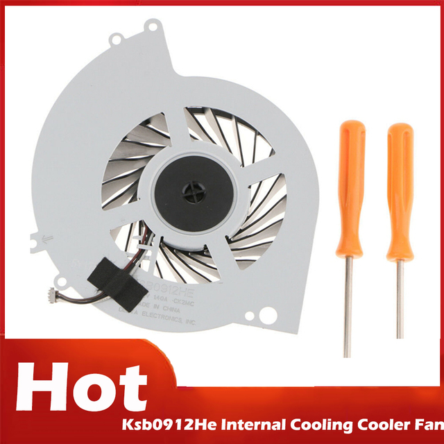 Retail Ksb0912He Internal Cooling Cooler Fan for Ps4 Cuh 1000A Cuh 1001A Cuh 10Xxa Cuh 1115A Cuh 11Xxa Series Console with Tool