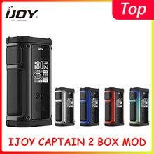 IJOY – Box Mod Captain 2, 18650 180W, pour réservoir Captain V Subohm avec bobine X3 Mesh, VS Shogun Univ