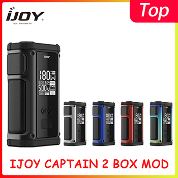 original ijoy zenith 3 kit 360w box mod with diamond subohm vape tank dual 20700 batteries zenith 3 e cig vape zenith 3 kit IJOY Captain 2 Mod powered by dual 18650 180W Vape Box MOD for Captain V Subohm Tank with X3 Mesh Coil VS Shogun Univ