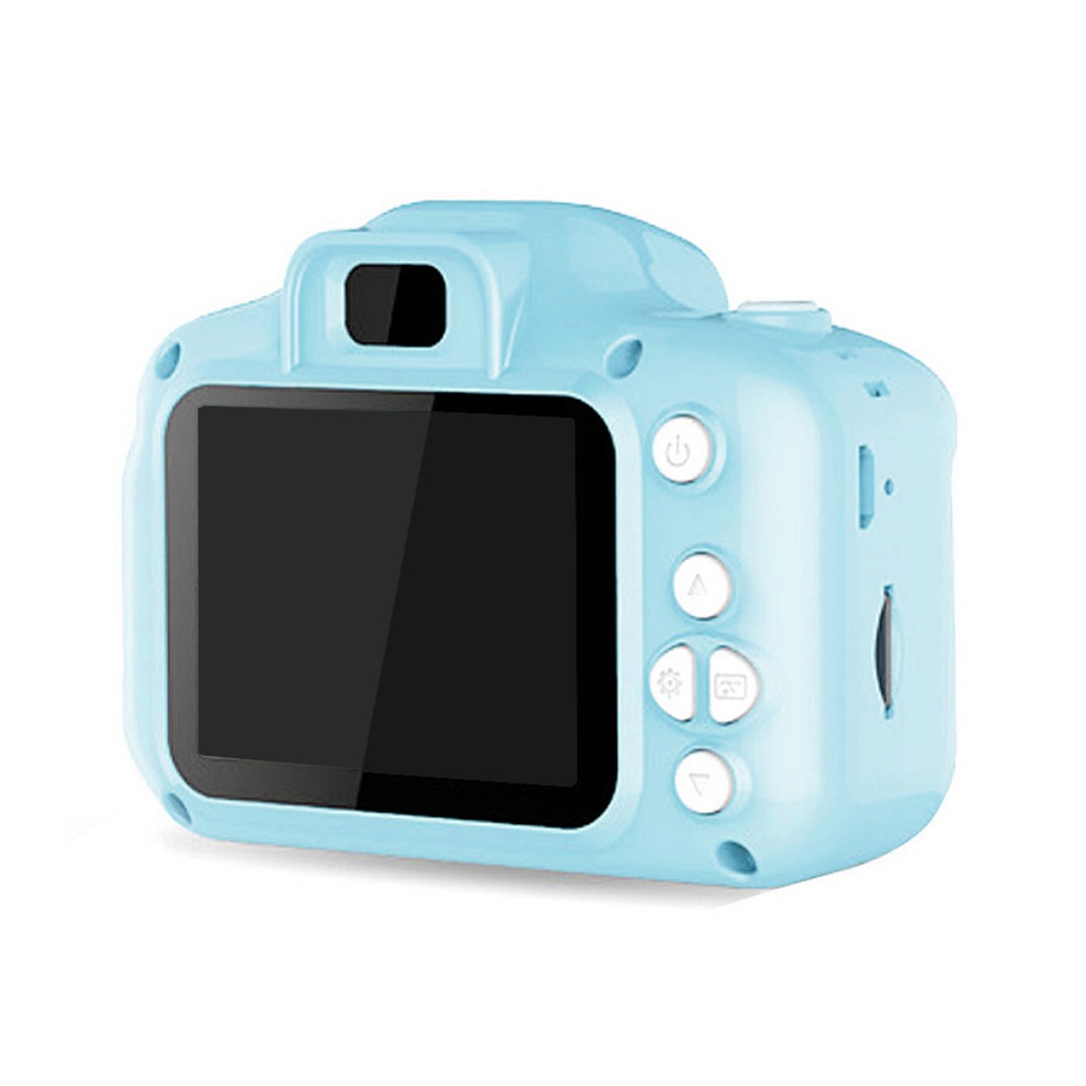 H419dff407cf744159cbf76ecaaab4d9b9 Rechargeable Kids Mini Digital Camera 2.0 Inch HD Screen 1080P Video Recorder Camcorder Language Switching Timed Shooting #S