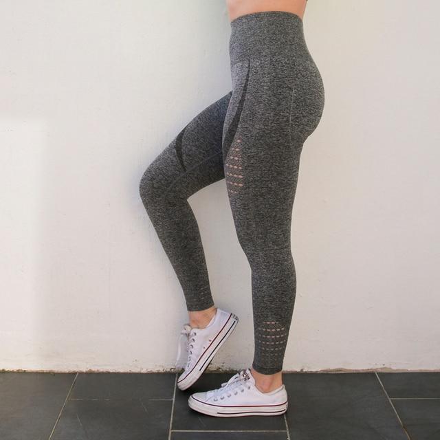 Nepoagym Women Energy Seamless Tummy Control Yoga Pants Super Stretchy Gym Tights High Waist Sport Leggings Running Pants 3