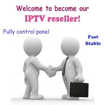 Europe IPTV Nordic Netherlands UK US World IPTV control panel with credits IPTV reseller