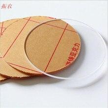 5 шт. толщина 1 мм круглый пластиковый лист из плексигласа акриловая доска органического стекла полиметилметакрилат