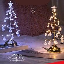 Новинка Рождественская Настольная мини лампа сказочные огни