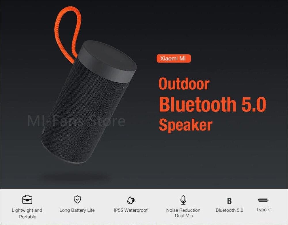 Xiaomi Outdoor Bluetooth speaker Portable Wireless Dual microphone Speaker MP3 Player Stereo Music surround Waterproof Speakers (1)