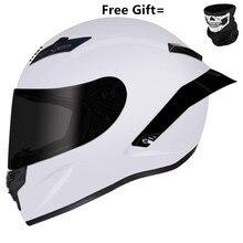 Full Face Motorcycle Helmet Professional Racing Helmet Kask