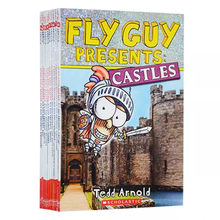 11 Books English Picture Book Fly Guy Presents  English Picture Storybook Interesting Children's English Learning Toys Libros
