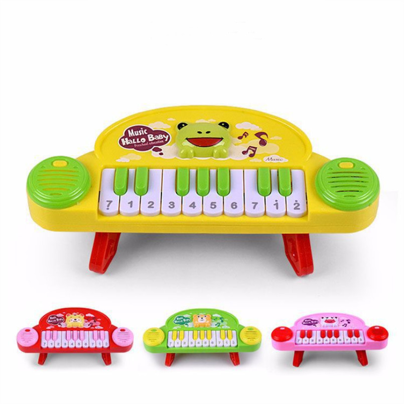 2019 Hot Sale Baby Toys Musical Instrument Toy Baby Kids Animal Piano Developmental Music Educational Toys For Children Gift