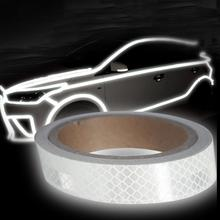 New 2019 1pcs Luminous Reflective Tape Sticker Helmet Stripes Long Lasting Motorcycle Car Bicycle Reflector Sticke