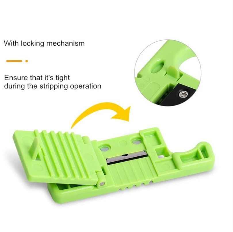 FTTH Glasfaser Stripping MSAT 5 Zugang Werkzeug Lose 1,9mm zu 3,0mm Austauschbare Klinge