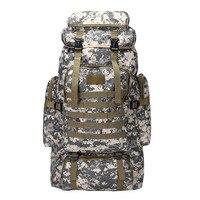 Рюкзак для путешествий на открытом воздухе, камуфляжная сумка, тактическая Беговая посылка, Большая вместительная сумка для альпинизма