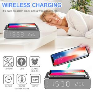 3 IN1 Electric LED Alarm Clock