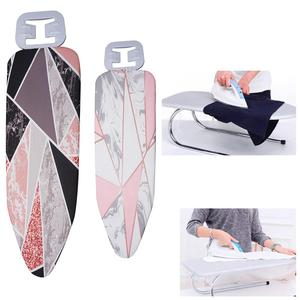 140*50CM Ironing Board Cover Marble Cloth Printed Ironing Board Cover Protective Non-slip Thick Colorful(China)