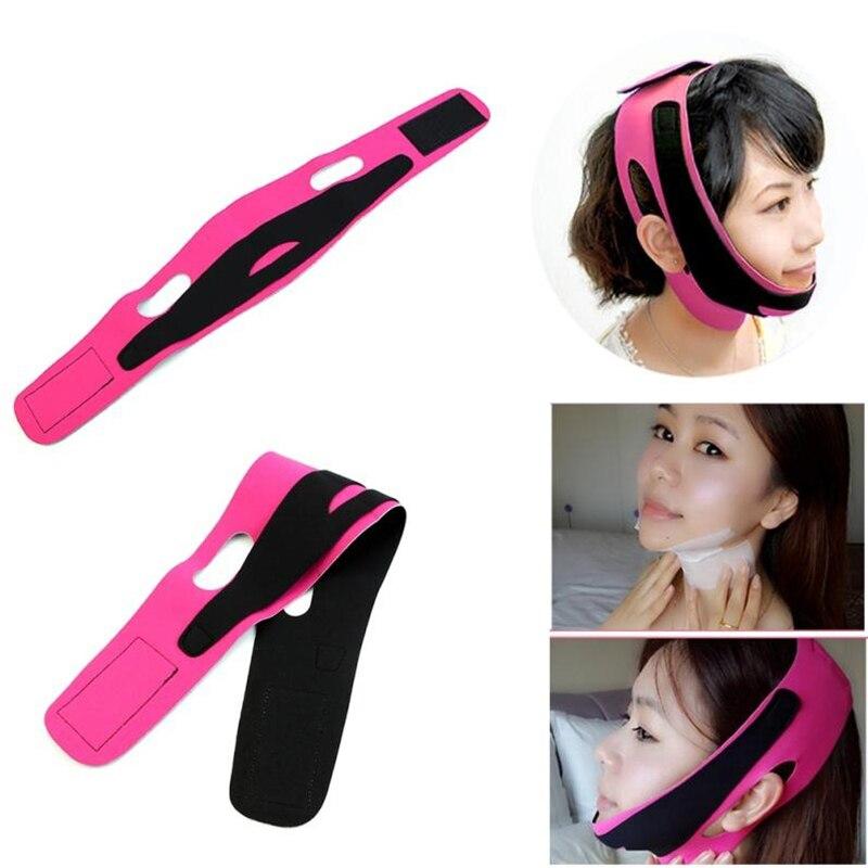 Face Lift Tools Thin Face Bandage Belt Face Massager Facial Lift Tape Facial Massage Anti Cellulite Women Face Care Toiletry Kit