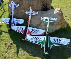 Esporte rc avião 950mm wingspan epo f3a aeronaves rc avião kit para crianças ao ar livre modelos de brinquedo vermelho azul verde
