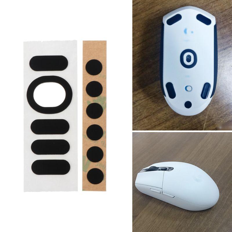 1 Set 0.6mm Curve Edge Mouse Feet Mouse Skates For Logitech G304 G305 Mouse