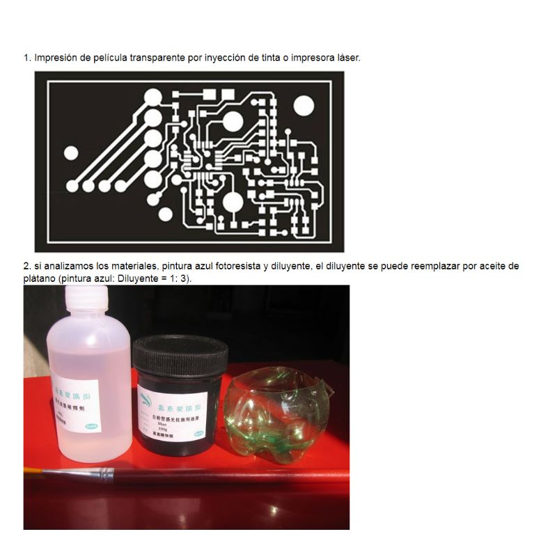 Photoresist Anti-etching Blue Ink Paint For DIY PCB Dry Film Replacement 100g N1HF