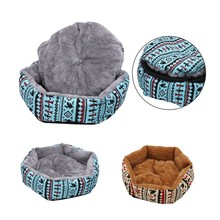 Newest Dog Bed Animals Puppy Cat Mats House Nest Pad Cozy Soft Fleece Pup Puppy Pets Bed  Soft Sofa Pet Home цена 2017