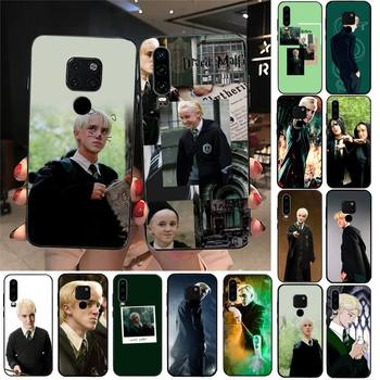 TOPLBPCS Draco Malfoy Phone Case For Huawei Honor 7A 8X 9 10 20lite 10i 20i 7C 8C 5A 8A Honor Play 9X pro Mate 20 lite image