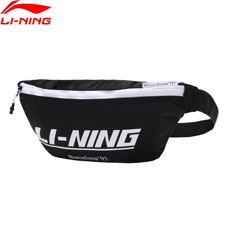 Li-Ning The Trend Waistpack 400*60*170mm Polyester Nylon Jogging Running Bag Li Ning LiNing Sports Waist Bags ABLP042 BJY042