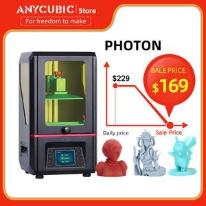 Image 1 - ANYCUBIC Photon 3d Printer Touch Screen Plus Size Desktop Off Line Print SLA 3d Printer Kit UV Resin impresora 3d impressora