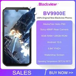Blackview BV9900E IP68 водонепроницаемый смартфон 6 ГБ 128 ГБ Helio P90 прочный телефон 4380 мАч 48мп камера NFC Android 10 мобильный телефон