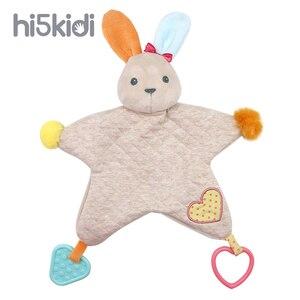 HI5KIDI Plush Doll With Sound Baby Plush Toy Cotton Cartoon Rabbit Plush Toy Children Birthday Gift Rabbit Shape(China)