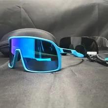 Brand Cycling Glasses Bicycle Men's Sunglasses Mountain Bike Polarized Glasses UV400 TMB Women's Goggles Cycling Equipment TR-90