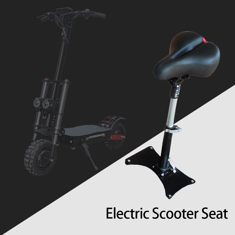 52V 60V X60 Electric Scooter Seat High Quality Sponge Leather Elastic Springs For Kick E Scooters Foldable Hoverboard Scooter