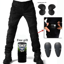2019 New Motorcycle Pants Men Moto Jeans Protective Gear Riding Touring Motorbike Trousers Motocross Pants 06 black Moto Pants 2018 new motorcycle pants men motorcycle jeans protective gear riding touring motorbike trousers motocross pants pantalon moto