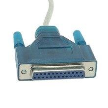 USB 2.0 Zu 25 Pin DB25 Weibliche Parallel Port Kabel IEEE 1284 12Mbps Parallel Drucker adapter Kabel für Computer PC laptop