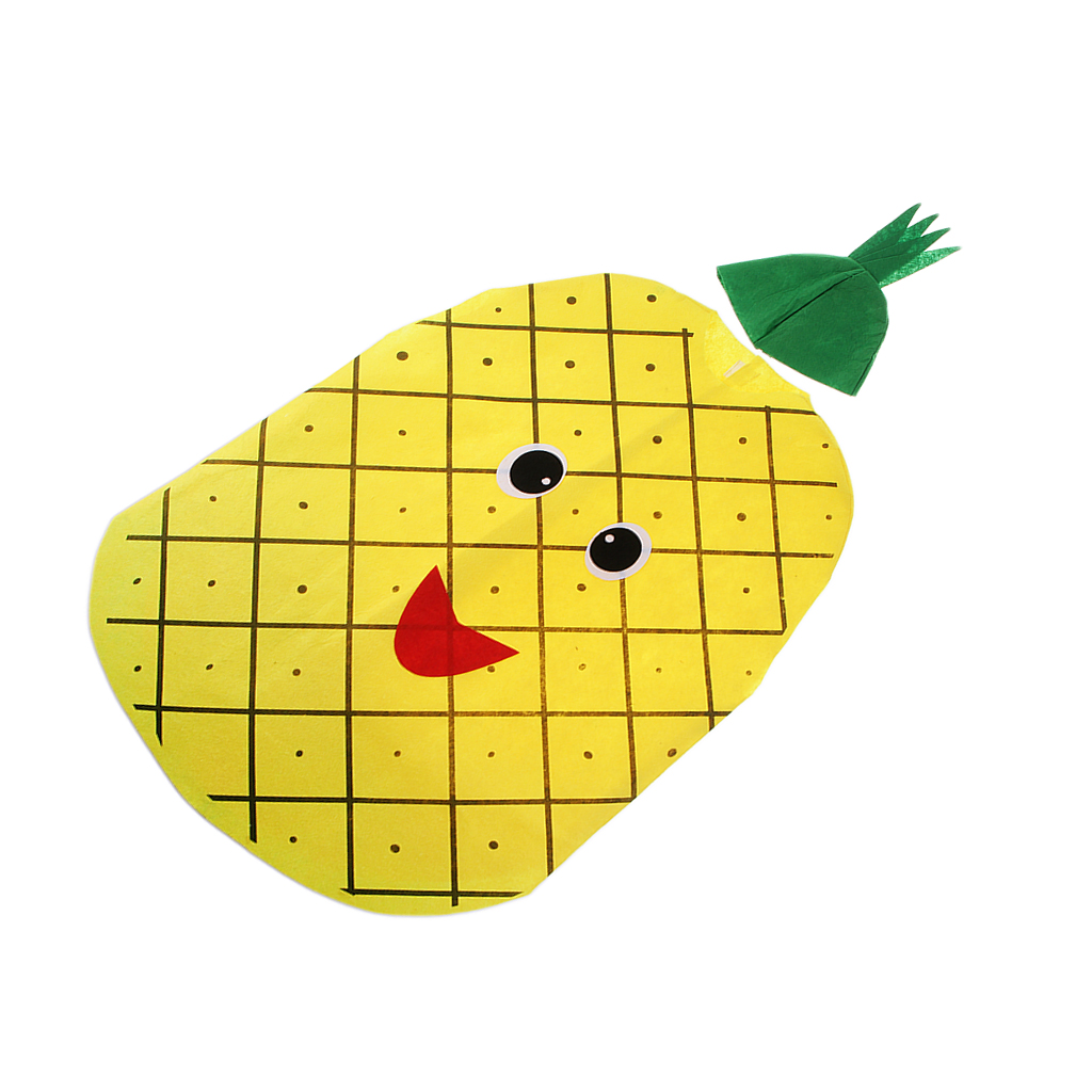 Pineapple Costume Fruit Vegetable Cosplay Clothes Sleep Cute Kids Week