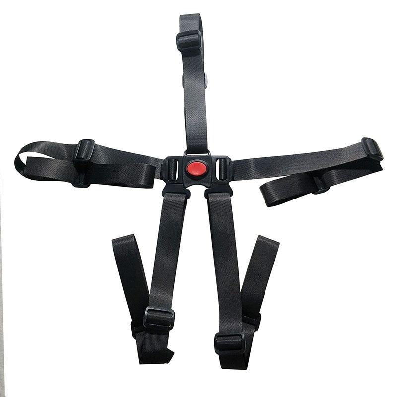 Baby Stroller Harness Safe Belt 5 Point Harness Belt For Stroller High Chair