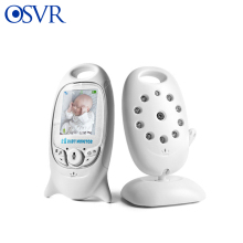цена на Wireless Video Baby Monitor 2.0 inch Security Camera 2 Way Talk NightVision IR LED Temperature Monitoring with 8 Lullaby