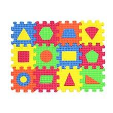36 pièces enfants Puzzles jouets EVA mousse tapis Alphabet lettres chiffres Puzzle enfants Intelligence développement 20*15cm