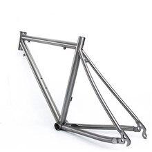 Рама для шоссейного велосипеда Comeplay 700C Рамка для титанового велосипеда