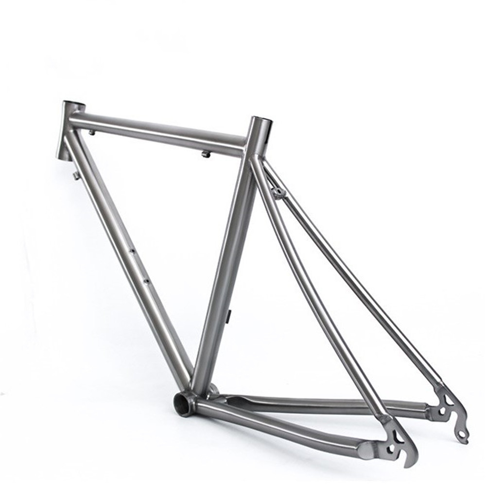 Comeplay Road Bike Frame 700C Titanium Bicycle Frame
