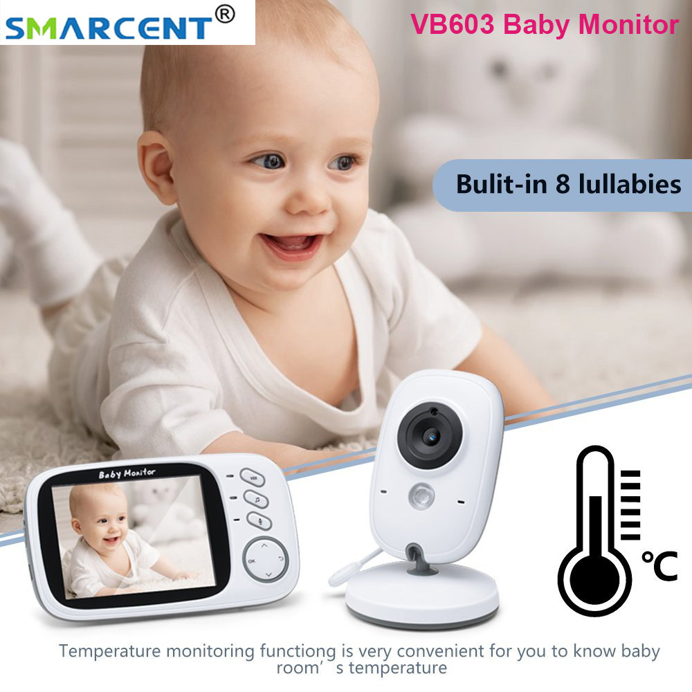 VB603 Baby Monitor With Camera Video Wireless 3.2 Inch Color Screen Night Version Talk Back Intercom Baby Nanny Security Camera