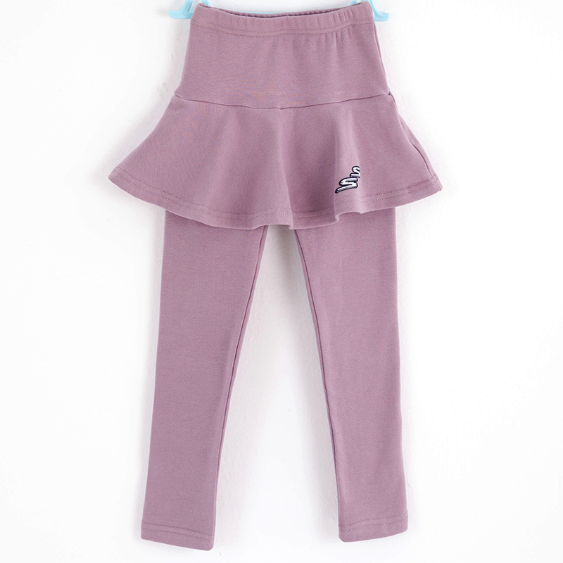 UK Toddler Baby Kids Girl Autumn Warm Cotton Trousers Dance Leggings Pants 1-8T