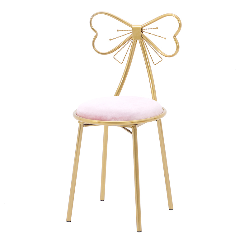 Modern Simplicity Makeup Chair Ins Living Room Furniture Wooden Countryside Restaurant Chairs For Sale Gold Metal Chair
