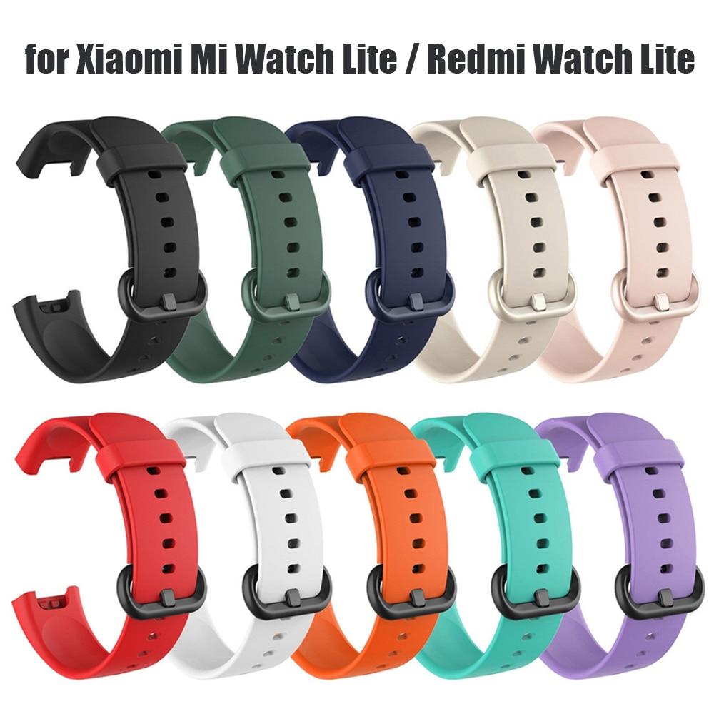 Saat kayışı Xiaomi Mi izle Lite Redmi izle Lite silikon saat kayışı Xiaomi Xiaomi silika jel bantları correa de reloj