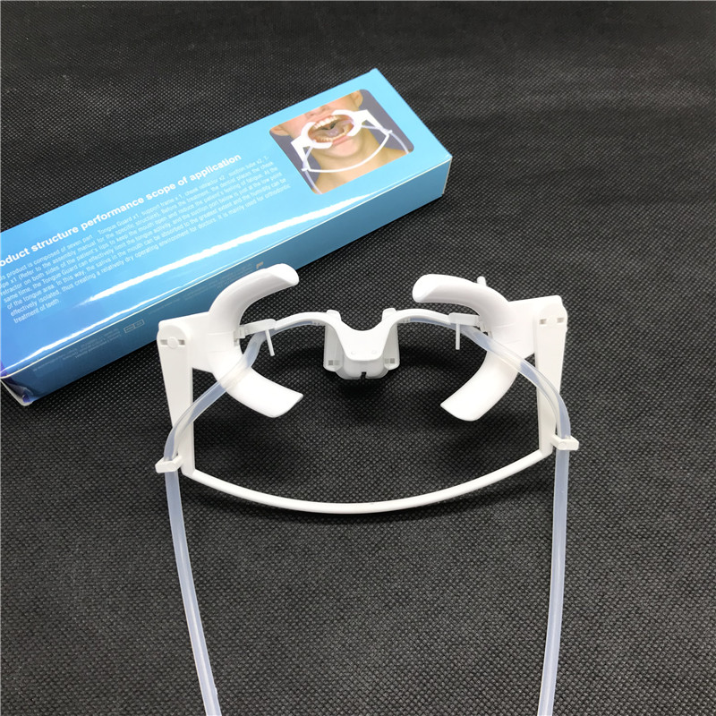 Dental Retractor With Sub Saliva Intraoral Lip Cheek Retractor Mouth Opener Cheek Expand Dentistry Oral Dry Field Suction System