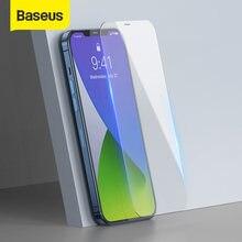 Baseus 2 pçs 0.3mm vidro temperado para iphone 12 pro max capa completa protetor de tela para iphone mini filme de vidro para iphone 12