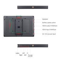 "nikon sony Eyoyo E7S 7"" פלט אינץ DSLR מצלמה צג 4K HDMI LCD מסך IPS FHD 1920X1080 תצוגה צג שדה DC עבור Nikon Sony Canon (5)"