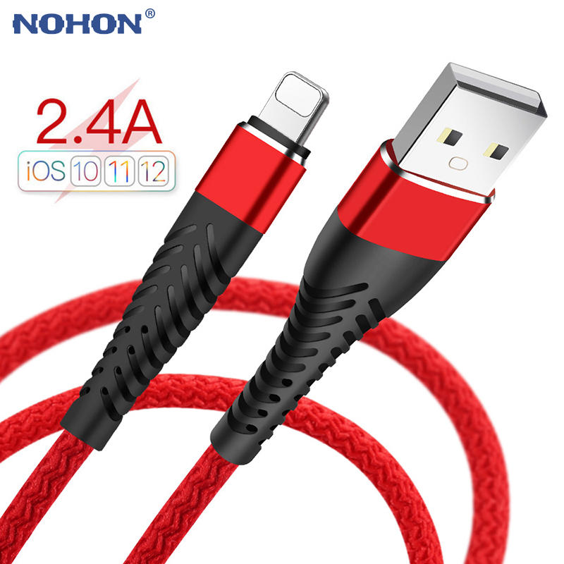 USB Cable for iPhone 11 Pro Xs max XR X 8 7 6 6s Plus 5 5s SE iPad 2.4A Fast Charging Cord Mobile Phone Origin Data Long Wire 3m|Mobile Phone Cables|   - AliExpress