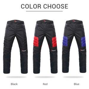 Image 4 - Pantaloni da Moto DUHAN pantaloni da Moto fuoristrada da Moto invernali a prova di freddo pantaloni protettivi da Moto con fodera in cotone