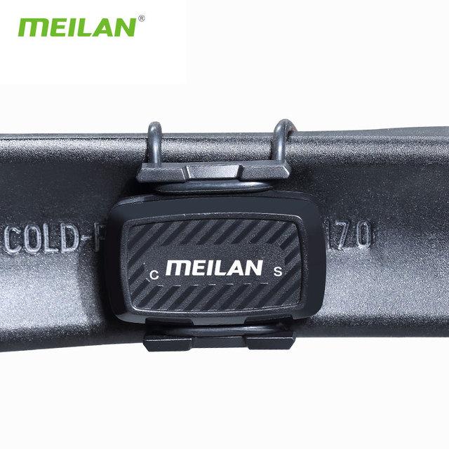 Bike  Cadence speedometer Bluetooth cycling sensor 4.0 ANT+ Internal rotation track Meilan C1  For GARMIN BRYTON igpsport  XOSS