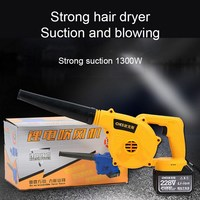 Blower Suction 1300W Electric Pet Hair Dryer Dust Collector Soot Blower 25800MAH Rechargeable High Power Wireless Blower