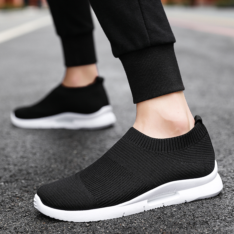 Damyuan Men Light Running Shoes Jogging Shoes Breathable Man Sneakers Slip on Loafer Shoe Men's Casual Shoes Size 46 2020 3